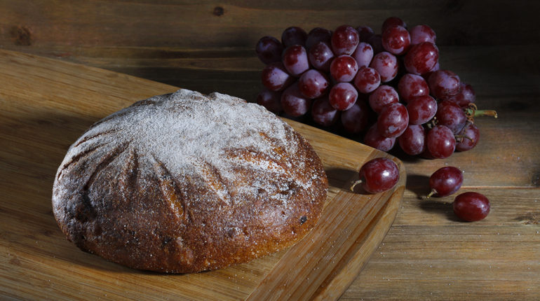 Sweet Potato-Onion Cranberry Bread   The Fresh Loaf