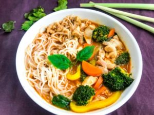 Thai Chicken Noodle Soup | Tasty Kitchen A Happy Recipe Community!