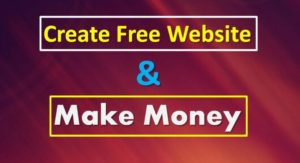 Creating Free Websites To Make Money Online