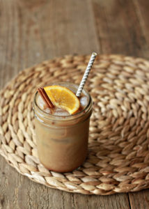 How To Make Orange Spiced Iced Coffee
