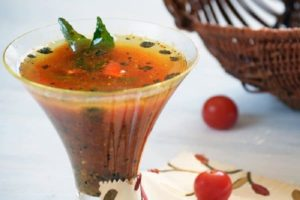 Traditional Rasam, Indian Tamarind Soup