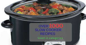 Table of Contents, A Year of Slow Cooking