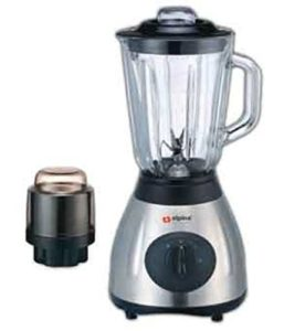 Alpina SF-1012 Electric 220V Stainless Steel Kitchen Countertop Blender with Grinder Attachment(Not …
