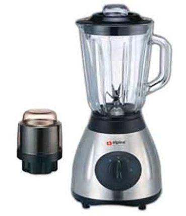 Alpina SF-1012 Electric 220V Stainless Steel Kitchen Countertop Blender with Grinder Attachment(Not ...