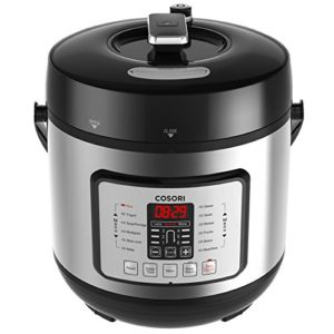 COSORI 7-in-1 6 Qt Electric Pressure Cooker, Slow Cooker, Rice Cooker,…