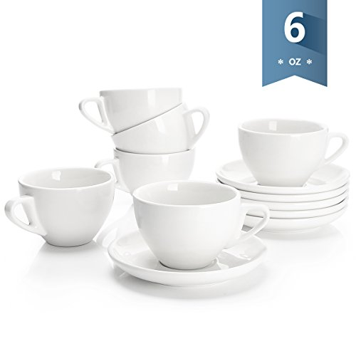Sweese 4306 Porcelain Cappuccino Cups