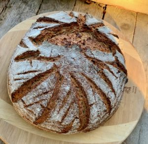 Rye Beer Sour Cream Porridge Bread