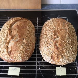 Oaty Sourdough – lower hydration this time