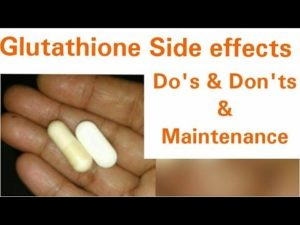 Is it Safe to Take a High Dosage of L-Glutathione Pills?