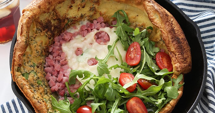 Ham and Swiss Dutch Baby
