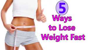 5 Easy Ways to Lose Weight