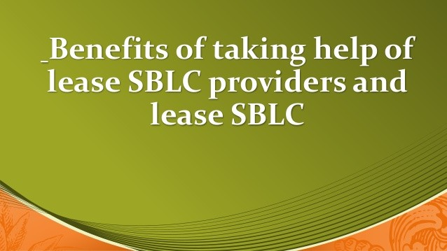 Benefits Of Leasing An SBLC