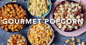 All About Gourmet Popcorn