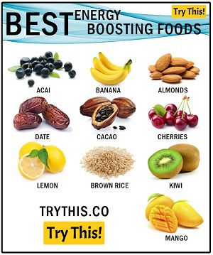 The Best Foods For Energy