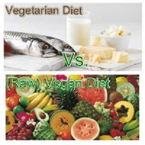 Know The Difference Between Raw Food and Vegetarian Diet