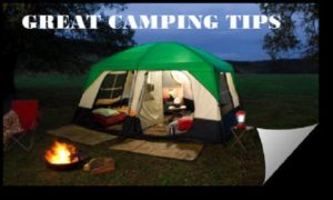 Camping Equipment Tips