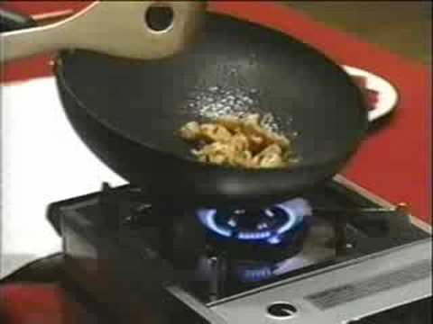 How to use chopsticks and stir fry, Martin Yan Part 5 Video.