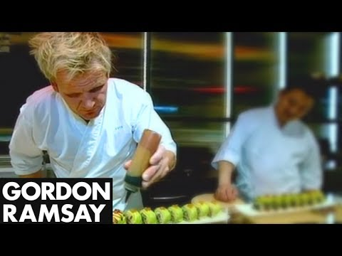 Learning to make Sushi – Gordon Ramsay