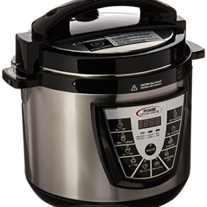 Power Pressure Cooker XL 6 Quart – Silver