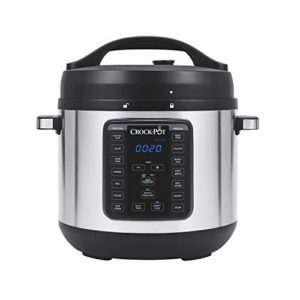 Crock-Pot 8-Quart Multi-Use XL Express Crock Programmable Slow Cooker and Pressure Cooker with Manual.