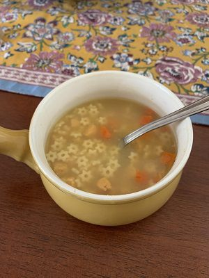 This soup is the real star