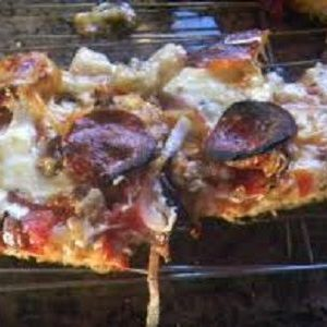 Sicilian Pan Pizza on the Grill and the Wife's Sandwich Loaf