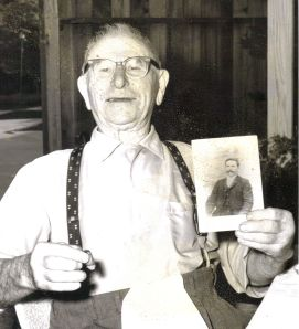 my great grandfather abele ferrari at 98 and 25