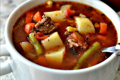 Easy Hamburger Vegetable Soup | Tasty Kitchen: A Happy Recipe Community!