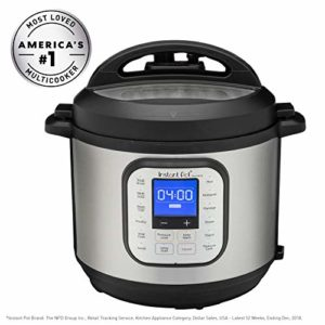 Instant Pot® DuoTM NovaTM 6-Quart 7-in-1, One-Touch Multi-Use Programmable Pressure Cooker, Slow Coo...