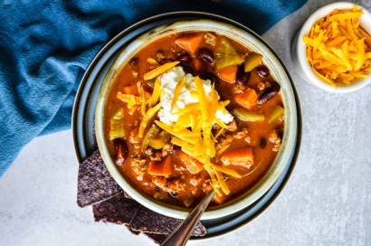 Easy Pumpkin Turkey Chili | Tasty Kitchen: A Happy Recipe Community!