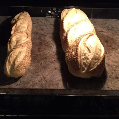 The Laurel and Hardy of semolina breads