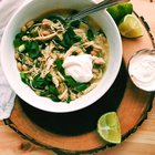 20-Minute Chicken Poblano Chili (gluten-free)