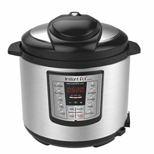 Instant Pot LUX60V3 V3 6 Qt 6-in-1 Multi-Use Programmable Pressure Cooker, Slow Cooker, Rice Cooker,...