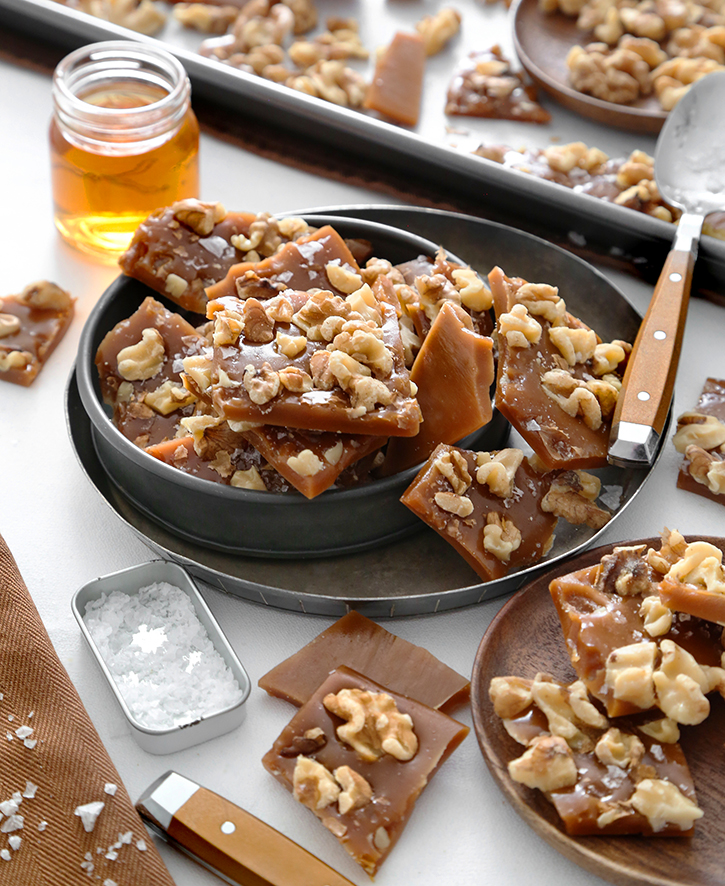 Whiskey Butter Toffee