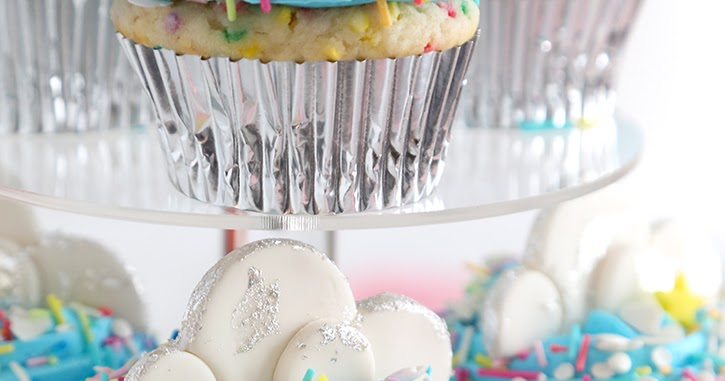 Silver Lining Cupcakes