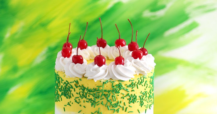 7 UP Layer Cake