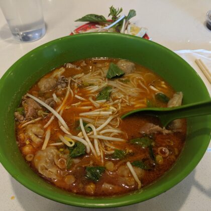 Pho Bo Sate do darn good soup