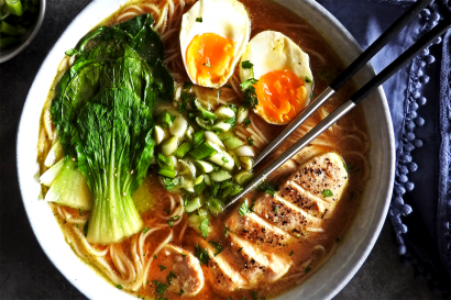 Easy Chicken Miso Ramen | Tasty Kitchen: A Happy Recipe Community!