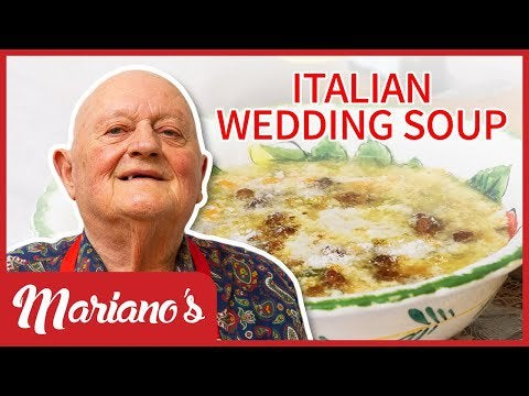 My nonno Mariano is a master in the art of making soup. This time he made Italian Wedding Soup! : so...